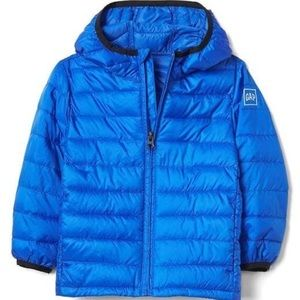 Baby Gap Blue Cold Control Lite Puffer Coat